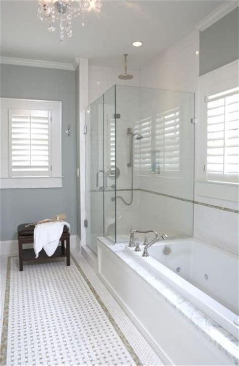 bathroom  blue gray walls paint color marble