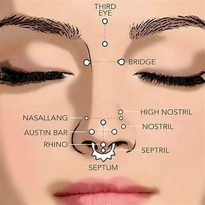 Nombres De Los Piercings Faciales M U00e1s Comunes S