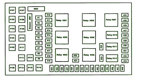 2004 F350 Fuse Relay Diagram by 2004 Ford F350 Fuse Box Diagram Circuit Wiring Diagrams