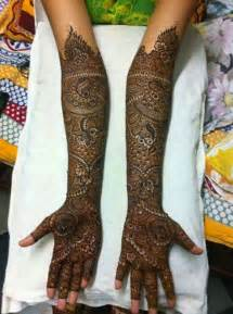 Full Arm Bridal Mehndi Designs 2014