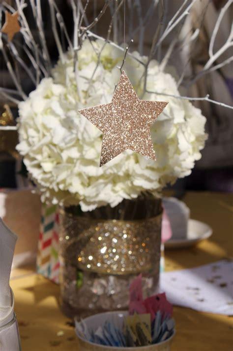 star centerpieces ideas  pinterest star theme