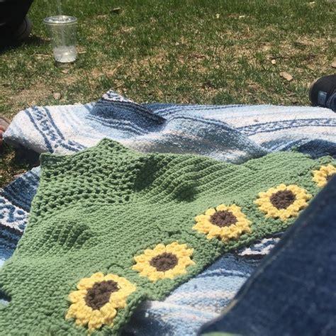 Free People Tops | Sunflower Handmade Crochet Halter Top ...