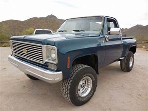 1976 Chevy K10 Scottsdale 4x4 For Sale