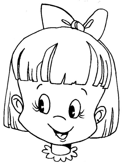 picture miscellaneous coloring sheets faces  human