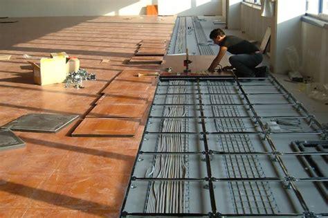 pavimenti galleggianti  sopraelevati  uffici prismac