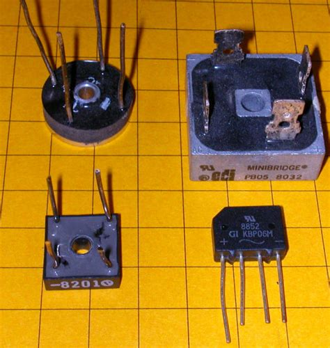 Basic Rectifiers Circuits Currents Voltages Leaky