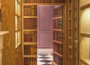 Bibliothèque Avec Porte : porte derobee en bibliotheque ~ Teatrodelosmanantiales.com Idées de Décoration