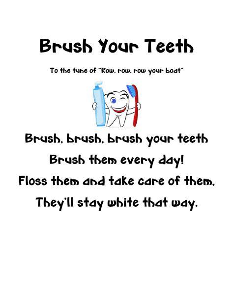 mrs jackson s class website dental health books and 407 | dentalbrushpoem