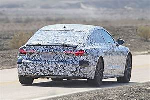 2019 Audi A7 Prototype Reveals New Taillight Design