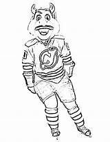 Coloring Hockey Nhl Jersey Goalie Mask Mascots Drawing Predators Nashville Devils Template Getcolorings Getdrawings Printable Bruins Sketch Colorings sketch template
