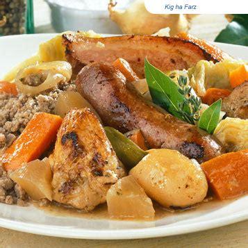 cuisine bretonne kig ha farz cuisine bretonne