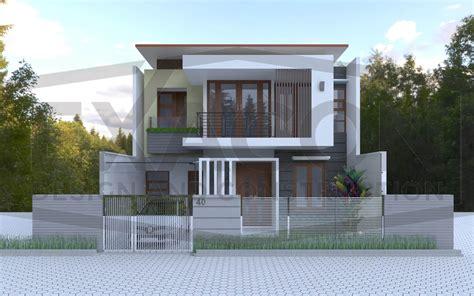 jasa desain rumah  lantai minimalis modern
