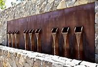 water wall fountain Wall Fountains Outdoor Clearance | Fountain Design Ideas