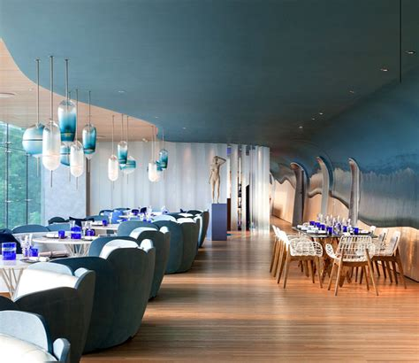 modern homes interior the restaurant created by substance design studio