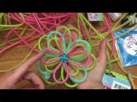 mesh tubing cord crafts images  pinterest