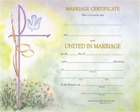 watercolor marriage certificate