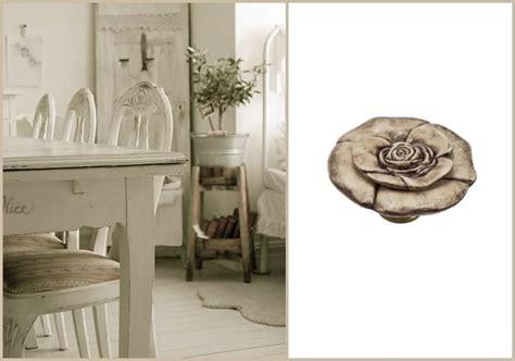 Sala Da Pranzo Country by Pomelli In Ceramica Per Mobili Shabby Chic