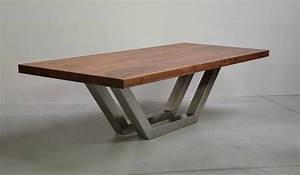 Spyder Wood Tisch : amerikanische nussbaum edelstahl coffee tables pinterest tables detail design and dining ~ Markanthonyermac.com Haus und Dekorationen