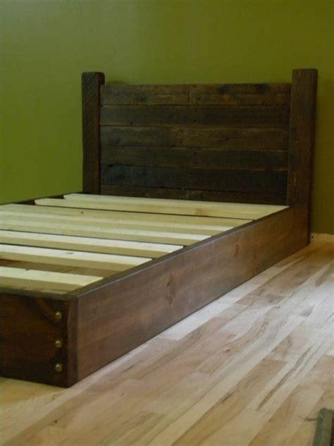 platform bed twin bed  profile bed bed frame
