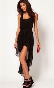 Black High Low Dress | Dressed Up Girl