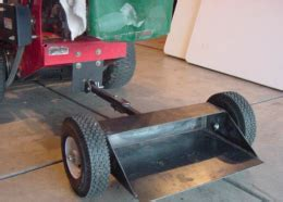 sulky homemade sulky constructed  steel plate tubing  wheels homemade tools sulky