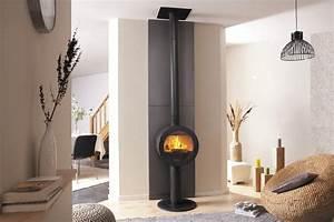 Poele A Granules Design Contemporain : poele a bois design ~ Premium-room.com Idées de Décoration