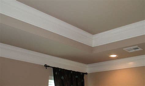 Tray Ceiling Trim Ideas by Tray Ceiling Crown Molding Bedroom Tray