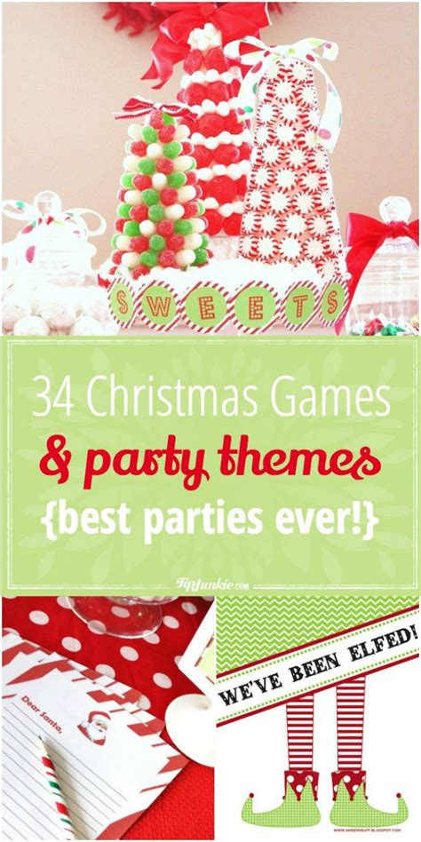 34 Christmas Games & Party Themes {best Parties Ever
