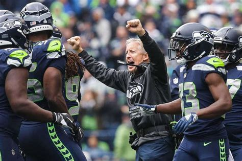 pete carroll  seattle seahawks  time winningest