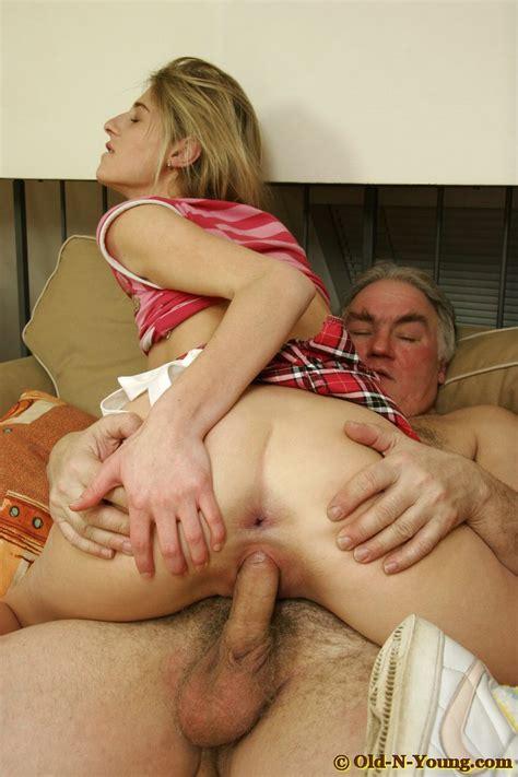 Old Man Fucks Young Slut