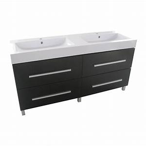 meuble lavabo double rona With meuble lavabo double