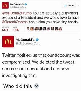 McDonald's Follow Donald Trump You Are Actually a ...