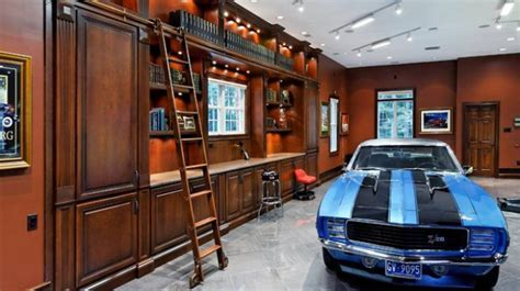 11 Car Garage with Man Cave