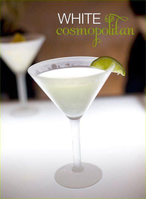 Happy Hour White Party Cocktails  Bebidas Pinterest
