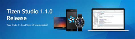 samsung releases tizen studio 1 1 0 software development kit sdk iot gadgets