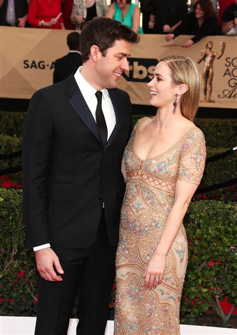 The couple is living a happy. John Krasinski Just Said the Cutest Things About Working ...