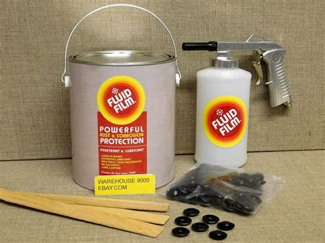 Gallon Fluid Film Undercoating With Standard Spray Gun