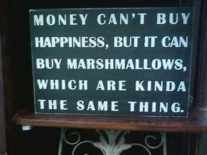 cute, love, marshmallows, money, text - image #90711 on ...