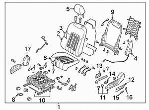 Mazda 6 Seat Back Cover  Cloth  Beige