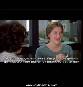 Drew Barrymore Never Been Kissed Movie Quotes. QuotesGram
