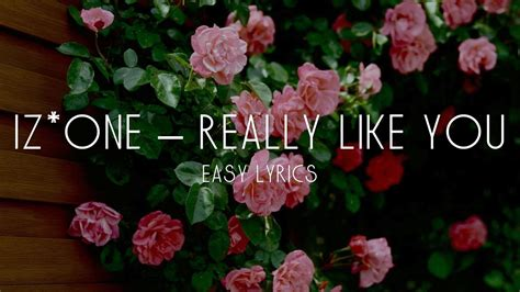izone    easy lyrics youtube