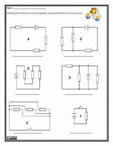 parallel and series circuits worksheet kids stuff With circuit in series