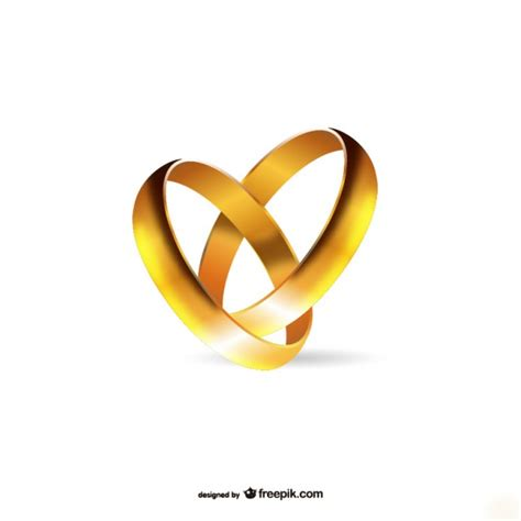 gold engagement rings vector free