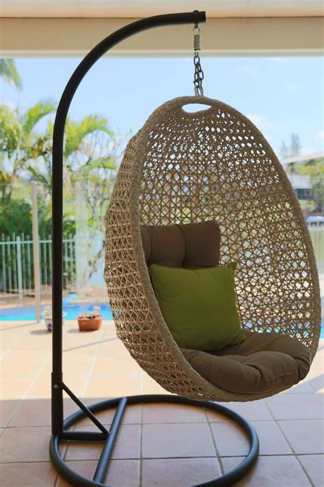 This page contains affiliate links. Hanging Egg Chair Out Door Furniture Brisbane Designer