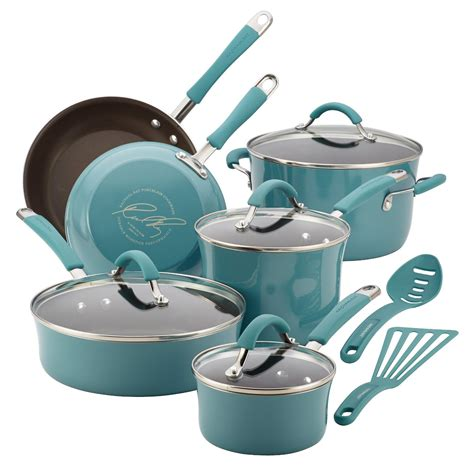 cookware sets rated nonstick cook enamel porcelain rachael ray
