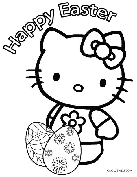 Printable Easter Egg Coloring Pages For Kids Cool2bKids