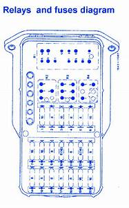 Mercedes W124 1988 Relay And Fuse Box  Block Circuit Breaker Diagram