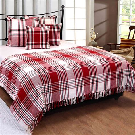 Large Throws For Sofas Uk by Cotton Large Tartan Throws For Sofas Bed Throw