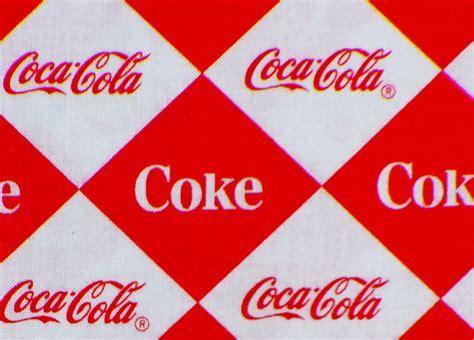 Coca Cola Fabric Coca Cola Logos Its The Real Thing Soda