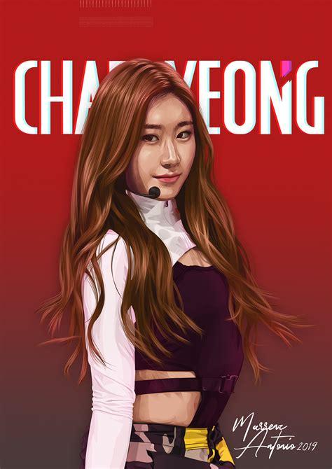 Chaeryeong of ITZY on Behance